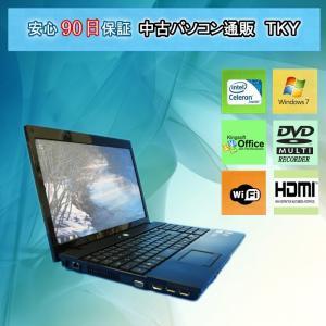 中古パソコン 中古ノートパソコン テンキー付き HP ProBook 4510s Dual-core /4GB/160GB/無線/マルチ/Windows7 pctky