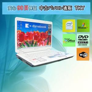 中古 ノートパソコン  中古パソコン TOSHIBA  TX/860LS CeleronM/1GB/100GB/無線/DVDマルチ/WindowsXP pctky