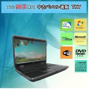 無線 中古 ノートパソコン  中古パソコン EPSON Endeavor NT9000Pro PentiumM/2GB/60GB/コンボ/Win7|pctky