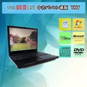 中古 ノートパソコン  中古パソコン EPSON Endeavor NA103 CeleronM523 933MHz/1GB/40GB/コンボ/Win7|pctky