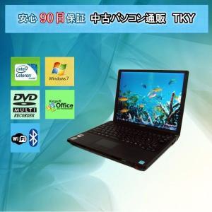 中古 ノートパソコン  中古パソコン SONY VAIO VGN-G3ABVS Celeron U2300 1.20GHz/4GB/160GB/無線/マルチ/Win7l|pctky
