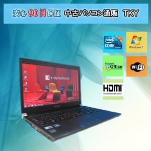 中古 ノートパソコン  中古パソコン TOSHIBA dynabook RX3 Intel(R) Core i3/2GB/160GB/無線/マルチ/Win7|pctky