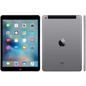 〔中古Bランク〕au iPad Air Wi-Fi Cellular 16GB  スペースグレー MD791JA/A 白ロム Apple 3ヶ月保証