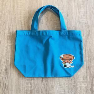 アッシーのプリントが付いたキャンパスバッグSサイズ|pczakka