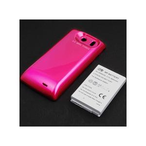 【特別価格】【送料無料】超大容量バッテリーパック AQUOS PREMIUM 009SH(ピンク)