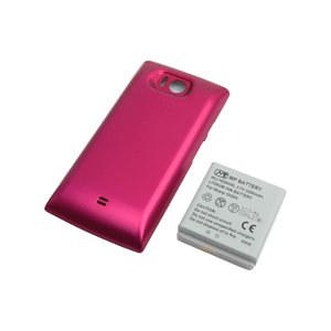 【送料無料】超大容量バッテリーパック AQUOS PHONE 103SH(ピンク)