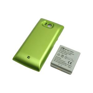 【送料無料】超大容量バッテリーパック AQUOS PHONE 103SH(グリーン)