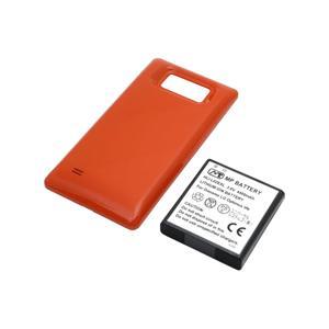超大容量バッテリーパック Optimus LIFE L-02E(オレンジ)
