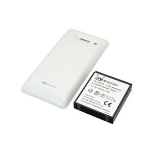 【特別価格】【送料無料】超大容量バッテリーパック INFOBAR A02(ホワイト)