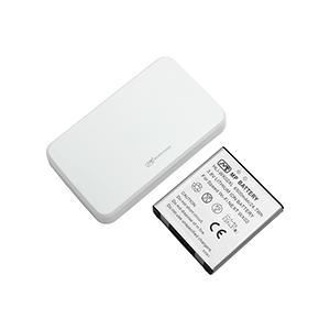 【送料無料】超大容量バッテリーパック Speed Wi-Fi NEXT WX02(ホワイト)