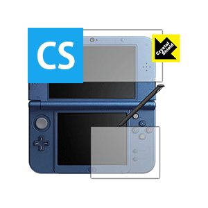 【New 3DS LL対応】 ニンテンドー3DS LL 防気泡・フッ素防汚コート!光沢保護フィルム ...