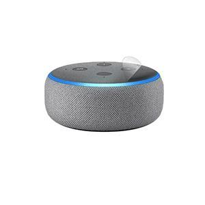 スキンシール Amazon Echo Dot (第3世代・2018年10月発売モデル) 【透明・すり...