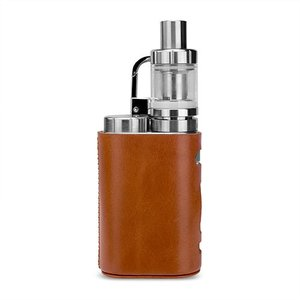WISTERIAS Leather case for Eleaf iStick Pico (Grus: Sepia Brown) 本革使用のハンドメの商品画像