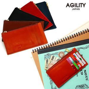 カードケース インナーカードケース 財布 小銭入れ ウォレット 革 レザー AGILITY affa アジリティ アッファ パーティション|pdd