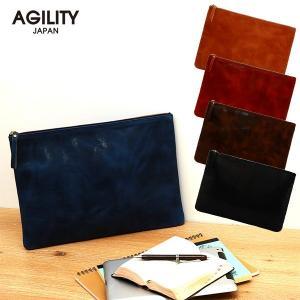 クラッチバッグ メンズ 本革 大きめ ショルダーバッグ 日本製 タブレットケース 2way AGILITY affa アジリティ アッファ ノマド|pdd