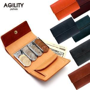 コインキャッチャー コインケース 財布 小銭入れ 折財布 お札 メンズ AGILITY affa アジリティ アッファ バンク|pdd