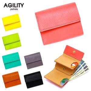 三つ折り財布 ミニ財布 ウォレット ちいさめ ミニ コンパクト 柔らかい AGILITY affa アジリティアッファ パルマ pdd