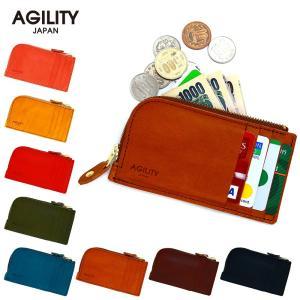 財布 インナーカードケース フラグメントケース L字ファスナー 本革 レザー AGILITY affa アジリティアッファ セパレイター pdd