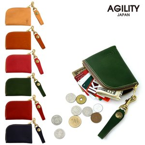 コインケース 本革 カードケース 小銭入れ レザー 日本製 AGILITY affa アジリティ アッファ アルジャン pdd