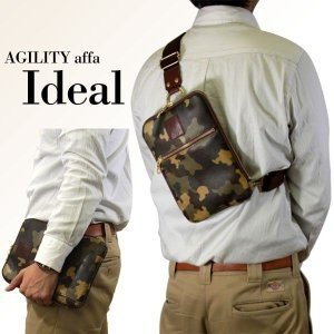 ボディバッグ 革 クラッチバッグ 2way レザー iPad miniサイズ AGILITY affa アジリティ アッファ イデアル|pdd