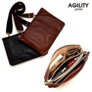 クラッチバッグ ipad 2way 本革 レザー 薄型 メンズ ショルダーバッグ  AGILITY affa アジリティアッファ コール pdd