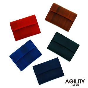 財布 折財布 極小財布 スマート 小さめ 薄い ミニ財布 コンパクト 本革 AGILITY affa アジリティアッファ コケット|pdd