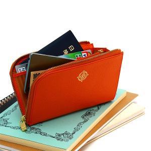 財布 L字ファスナー レディース 旅行 トラベルウォレット スマホ パスポート 革 レザー AGILITY Bisognアジリティビゾン ロワジール|pdd