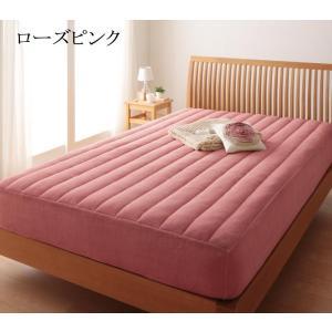 パッド一体型ボックスシーツ ファミリー 中綿ボリュームタイプ ベッドシーツ 敷パッド ベッドパッド マイクロファイバー ベッドマット 敷きパッド|peace-and-happiness|04