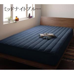 パッド一体型ボックスシーツ ファミリー 中綿ボリュームタイプ ベッドシーツ 敷パッド ベッドパッド マイクロファイバー ベッドマット 敷きパッド|peace-and-happiness|05