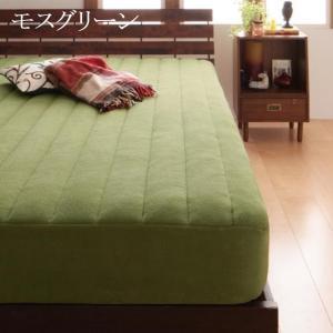 パッド一体型ボックスシーツ ファミリー 中綿ボリュームタイプ ベッドシーツ 敷パッド ベッドパッド マイクロファイバー ベッドマット 敷きパッド|peace-and-happiness|06