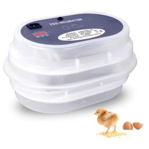 HBLIFE 孵卵器 孵化器 自動転卵 ウズラ 9~12枚 孵化率アップ 簡単操作 孵卵機 ふ卵器 ふ卵機 ふ化器 インキュベーター 実験用 小型自動孵卵 日本語説明書付き (|peace-maker
