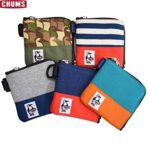 財布 ウォレット チャムス CHUMS スクエアコインケーススウェットナイロン CH60-2689