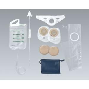 ストーマ洗腸 アルケア コロクリンPC 洗腸に必要な製品13点セット 製品番号13401 1セット アルケア ストーマ 人工肛門洗腸セット|peacecare