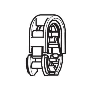 パナソニック温水洗浄便座用クイックファスナー(給水ホース留め具)DL792X-EGCS0