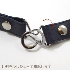 ゴムベルト (メール便送料無料) バックル付属で2way使用可 25mm幅  ベルト レディース|peacekoubou|09