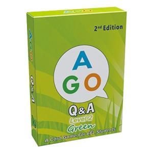 AGO Q&A グリーン レベル2 第2版 英語 カードゲーム peaces