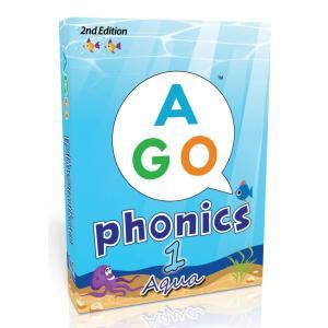 AGO フォニックス アクア レベル1 第2版 英語 カードゲーム peaces