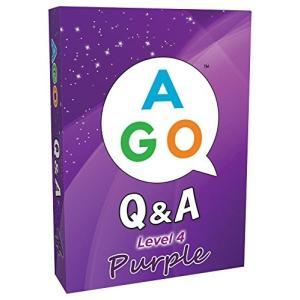 AGO Q&A パープル レベル 4 英語 カードゲーム peaces