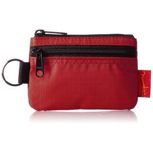 [ノーマディック] 財布 小銭入れ 2段ファスナー財布 WA-12 赤