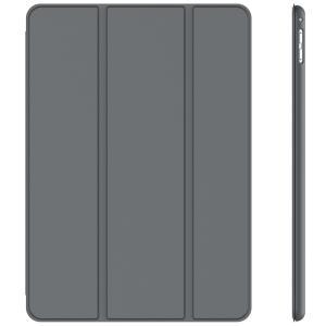 JEDirect iPad Pro 9.7 ケース レザー 三つ折スタンド オートスリープ機能 スマートカバー (ダークグレー)|peaces