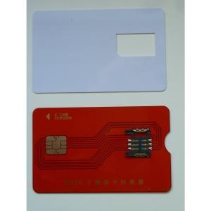PB-MC02 と『これ1枚で2つの機能 MINI B-CAS変換アダプター 兼 B-CAS カード テンプレート』のセット|peaces