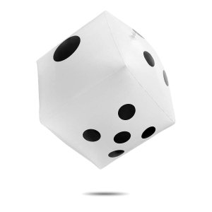 ジャンボサイコロ 巨大 大きい ビッグ ビーチボール ジャンボ サイコロ カードゲーム peaces