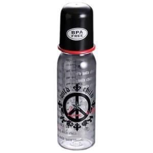 ROCK STAR BABY(ロックスターベイビー) 哺乳瓶 ピース 250ml|peaceshop
