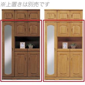 桐材を使用したハイタイプのシューズボックスです。カラーはブラウン・ナチュラルの2色対応です。   全...