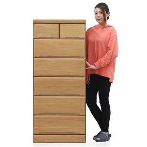 湿気に強い桐材を使用した省スペースに最適な幅60cm6段のハイチェストです。組立不要の完成品です。 ...