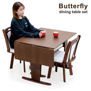 ダイニングテーブルセット 4人掛け 4点 折りたたみ 伸縮タイプ ラック付 ベンチ付の写真