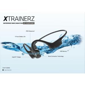 AfterShokz Xtrainerz 水中で音楽が聴ける mp3プレーヤー ヘッドホン Blac...