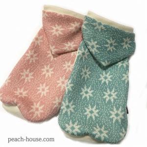 FLOWERジャガードパーカー|peach-house2