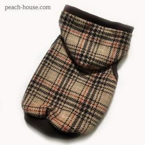 スコットチェックパーカー|peach-house2