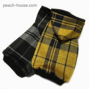 【sale】ブラックウオッチジャガードパーカー|peach-house2